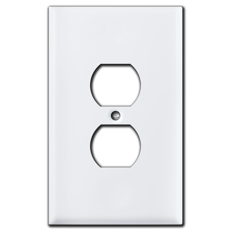 Oversized Outlet Covers White Kyle Switch Plates