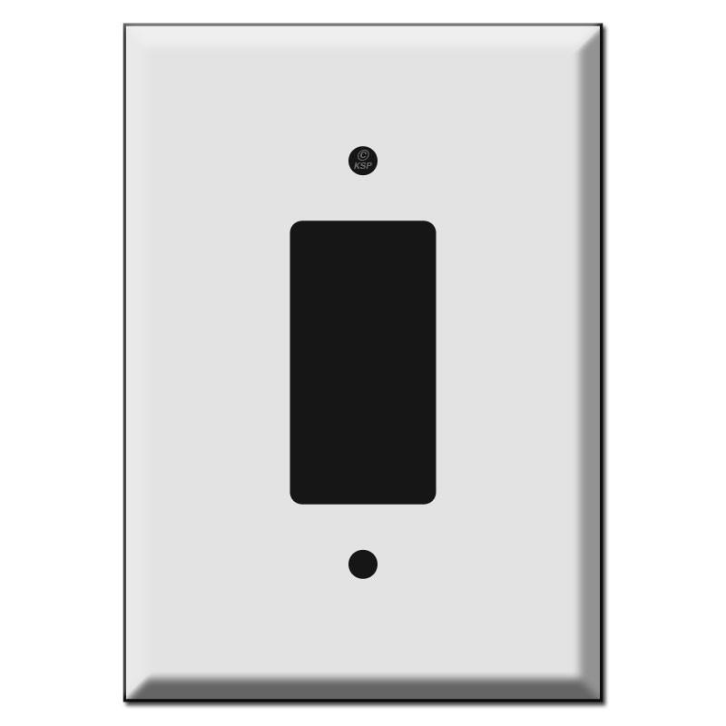 Extra Large Jumbo Decora Rocker Switch Plates 6.38\