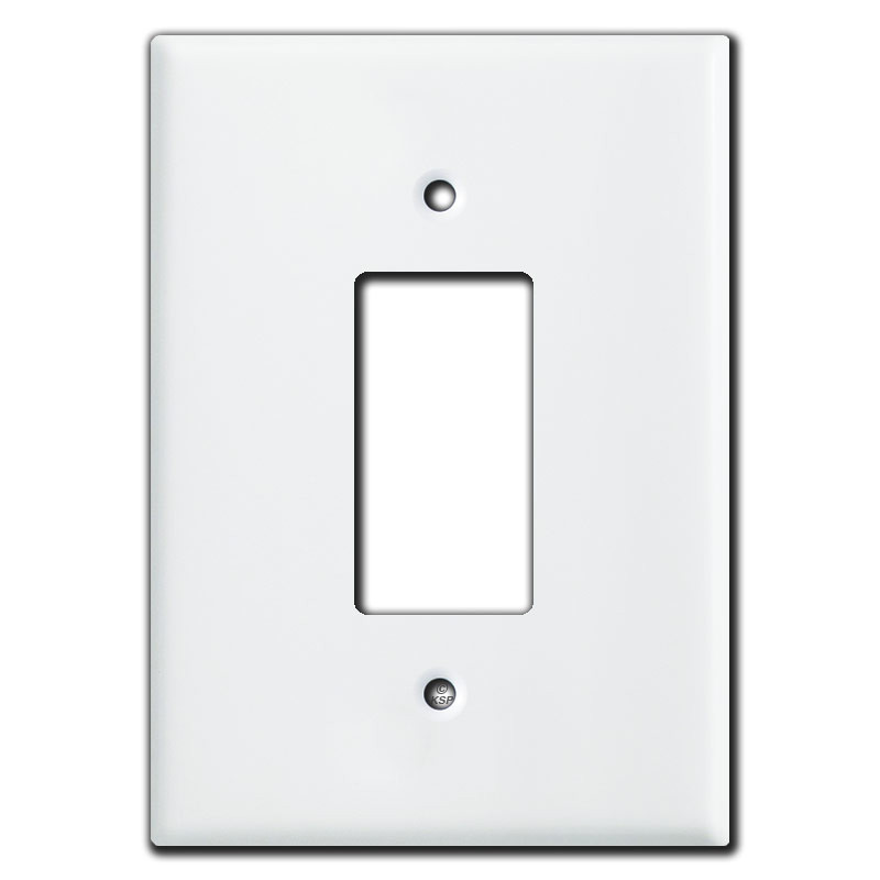 Extra Large 6 38 Quot Oversized Gfci Rocker Wall Plates White