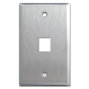 Stainless Steel Switch Plate for Phone Jack