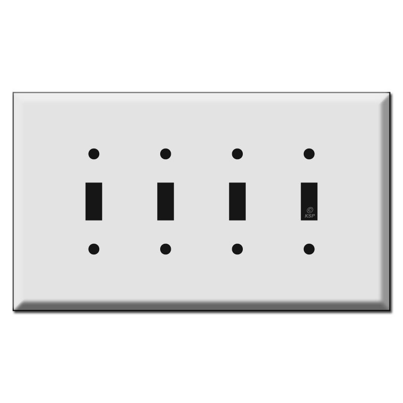 4 switch wall plate outlet oversized four gang toggle switch plates kyle
