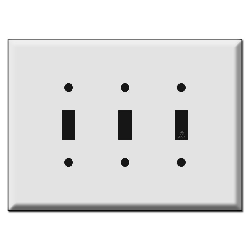 Oversized 3 Toggle Switch Plate Kyle Switch Plates