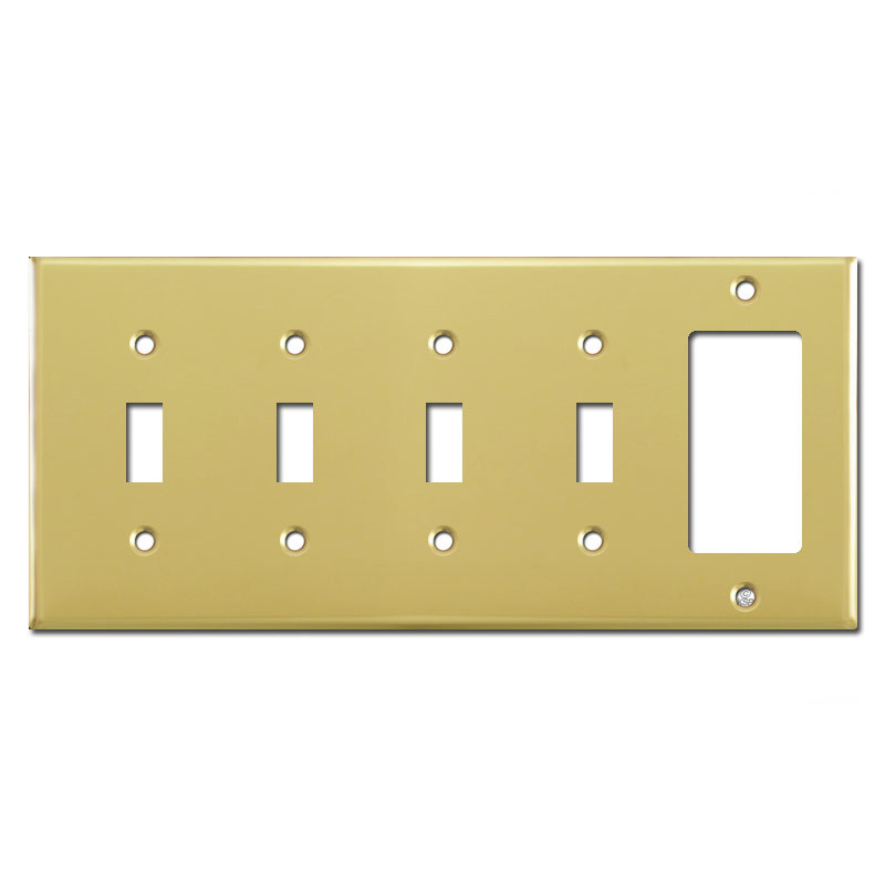 1 Gfci 4 Toggle Light Switch Cover
