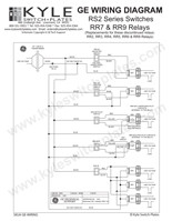ge low voltage switch & relay wiring instruction guide  ge rr7 relay wiring diagram #3