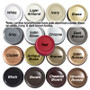 Color options for gold design dimming knobs.