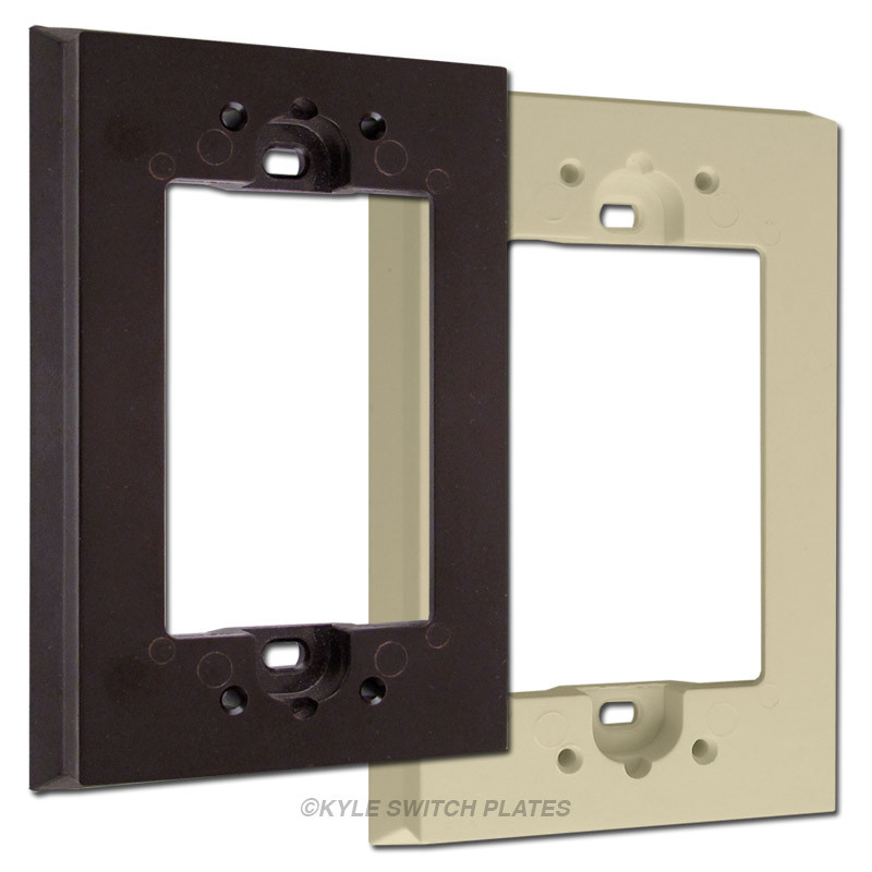 Switch Plate Extender for Shallow Wallboxes Leviton 6197