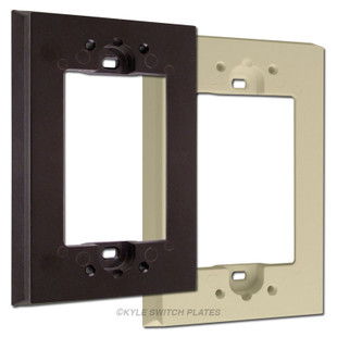 Deep Switch Plate Extender for Shallow Wallboxes Leviton 6197