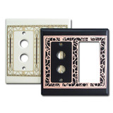 Decorative Push Button Rocker Light Switch Covers