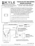 Touch-Plate 5000 Series Low Voltage Switch Wiring Guide with Drawings