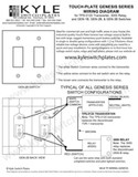 Touch-Plate Genesis Low Voltage Wiring Guide with Drawings
