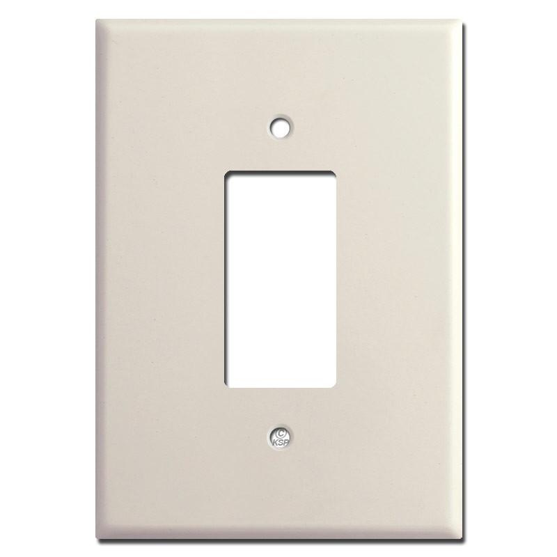 6 38 Quot Oversized Gfci Rocker Wall Switch Plate Light Almond