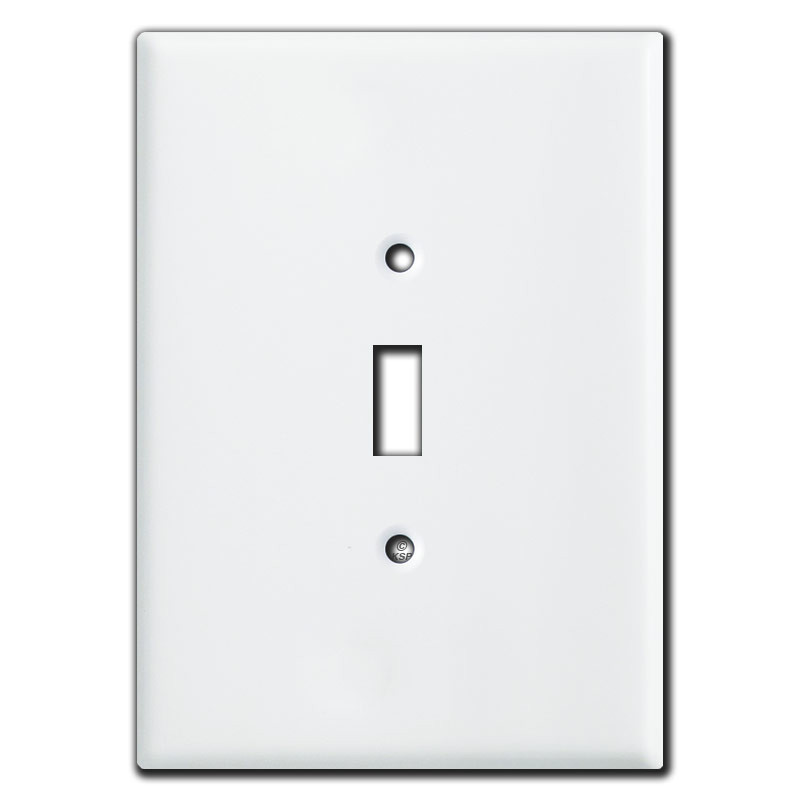 Super Large 6 38 Quot Oversized Toggle Light Switch Cover White