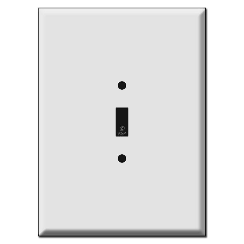 """Oversized Light Switch Covers Awesome 7.5"""" Oversized 1 Toggle Light Switch Wall Plate Covers 2017"""