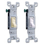 Leviton CO/ALR Aluminum Wiring Gloss Toggle Light Switches
