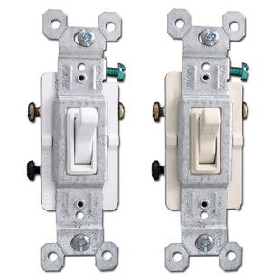 Pass & Seymour 3-Way 15A Toggle Switches
