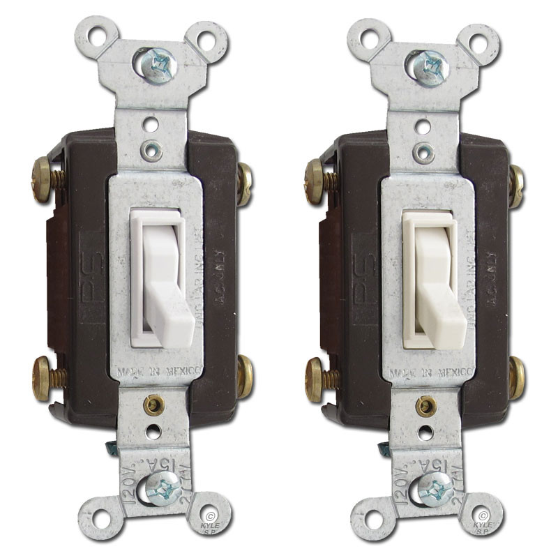 4Way 15A Toggle Light Switches Pass Seymour 664