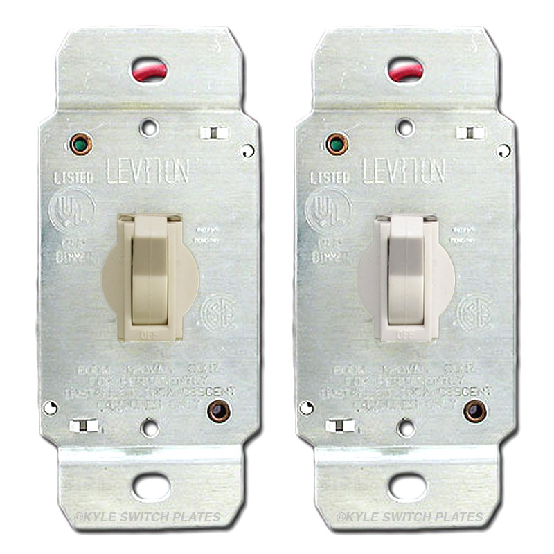 Toggle Dimmer Switch Leviton 6641 | Kyle Switch Plates