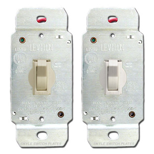 Toggle dimmer switch leviton 6641 kyle switch plates toggle dimmer switch leviton sciox Choice Image