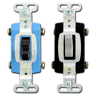 Pass & Seymour 4 Way 15A Toggle Switches - Industrial Grade