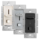 Lutron Skylark 3-Speed Fan Controls with On Off Light Switch SFSQ-LF