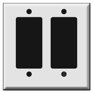 Short 2 Decora Rocker Switch Plates