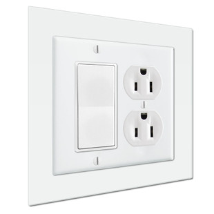 Jumbo 6 Quot X 6 Quot Light Switch Wall Plate Expander To Extend