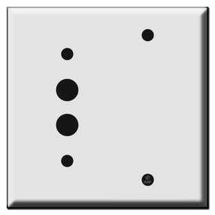 Pushbutton Blank Wall Switch Plates