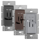 Lutron Skylark Light Dimmer and Fan Controls S2-LFSQ