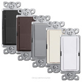 Designer 4-Way Rocker Light Switches - Lutron Claro CA-4PS