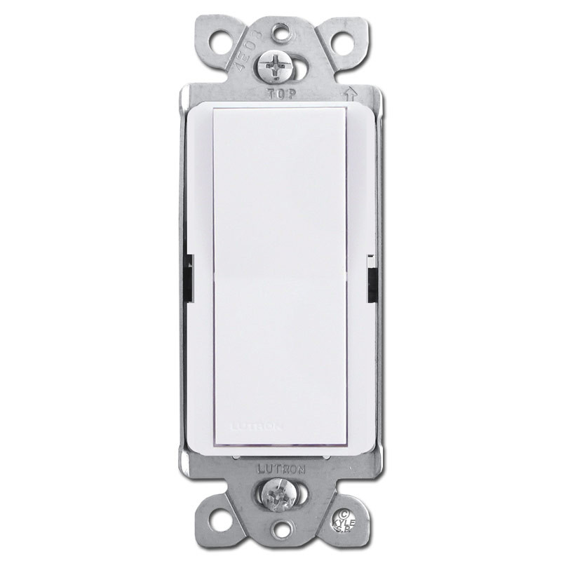 Designer 4Way Rocker Light Switch White Kyle Switch Plates - 4 Way Rocker Light Switch