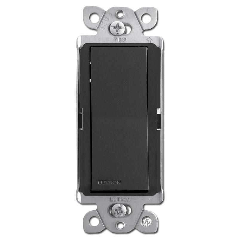 4Way Rocker Decor Light Switch Black Kyle Switch Plates