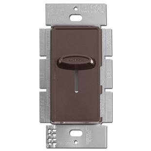 Decorator Brown Fan Control Switch 3-Speed Lutron Skylark