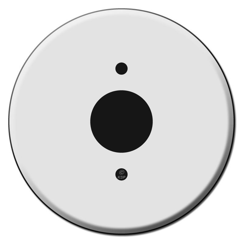 Circular Outlet Cover Plates For 1 375 Quot Round Receptacles