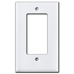 Short Rocker Switch Plates for Decora Switch, GFCI, or Dimmer