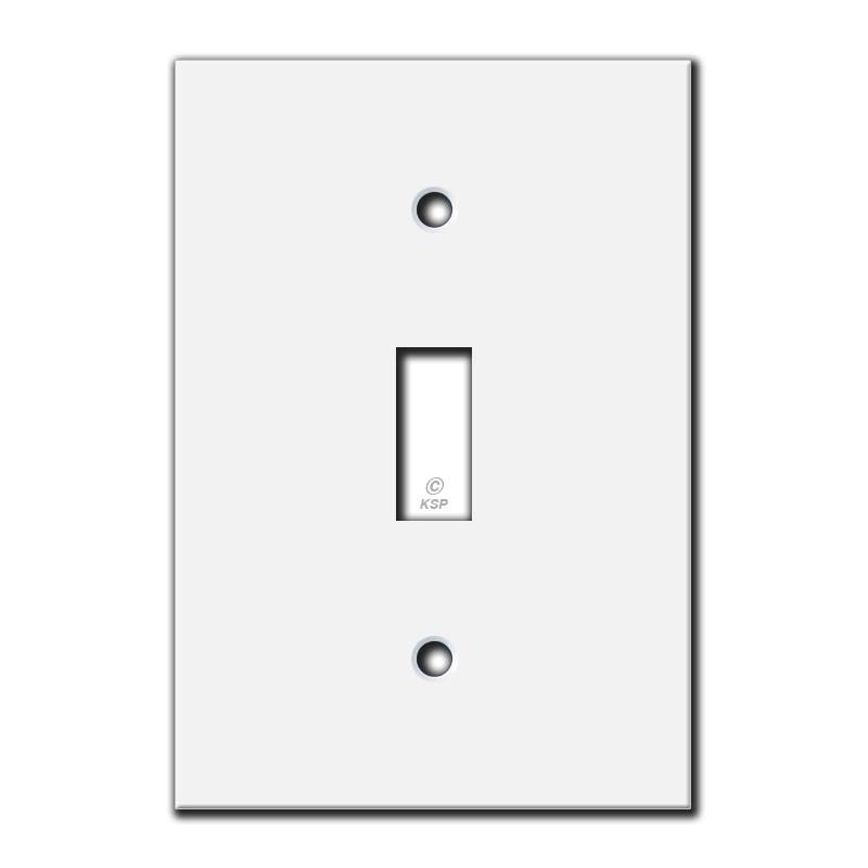 flat 4 u0026 39  u0026 39  short 1 toggle switch plate