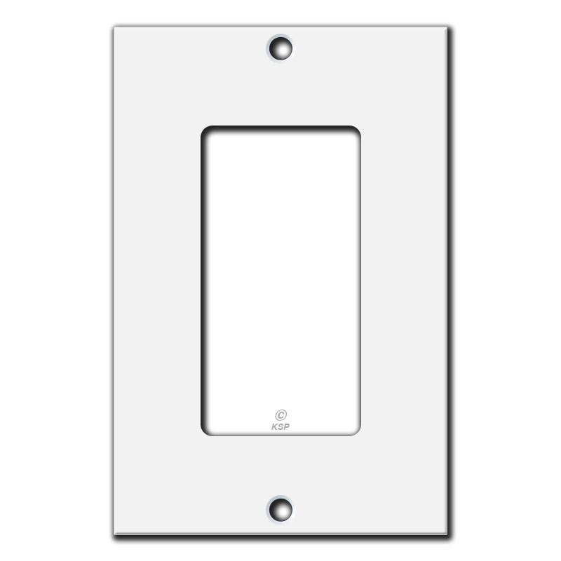flat 4 18 u0026 39  u0026 39  short decor rocker switch plate cover