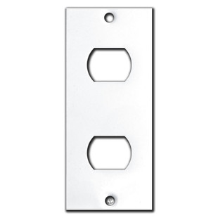 2 Despard Wallplate Insert Converts Rocker Plate (CANNOT be used on its own - requires a Decora wall plate opening.)