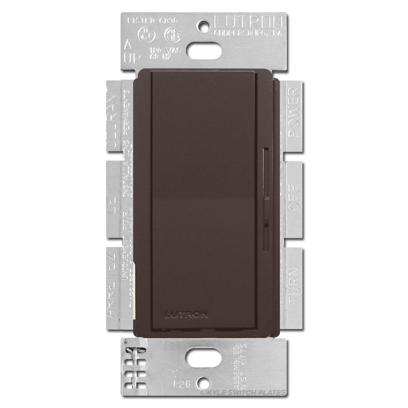 Electronic Low Voltage Elv Dimmer Switch 300w Brown
