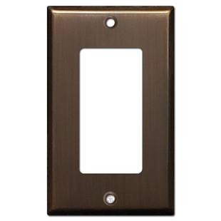 GFI/Decora Light Switch Plate - Venetian Bronze