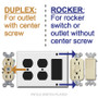 4 Plug Slots for Duplex Devices