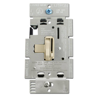Ivory Toggle Dimming Switches 600W