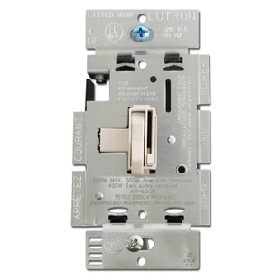 Light Almond Toggle Dimming Switch 600W
