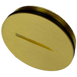 Brass Screw Cap for Floor Outlet Covers - Allied Moulded