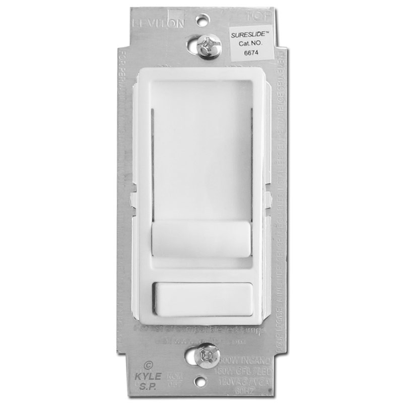 CFL LED Dimmer Switch S/P & 3 Way Universal