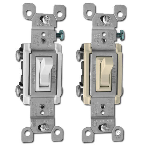 Co Alr 3 Way Toggle Switch For Aluminum Wiring 15a Leviton