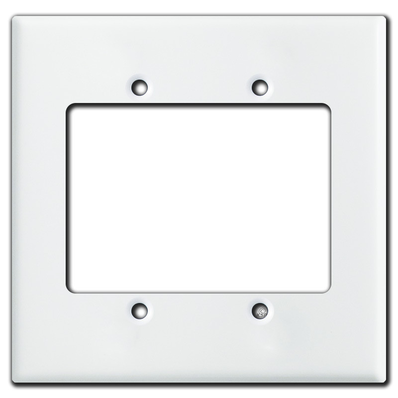 Oversized 2 Gang Extender Rings For Deep Wall Plates