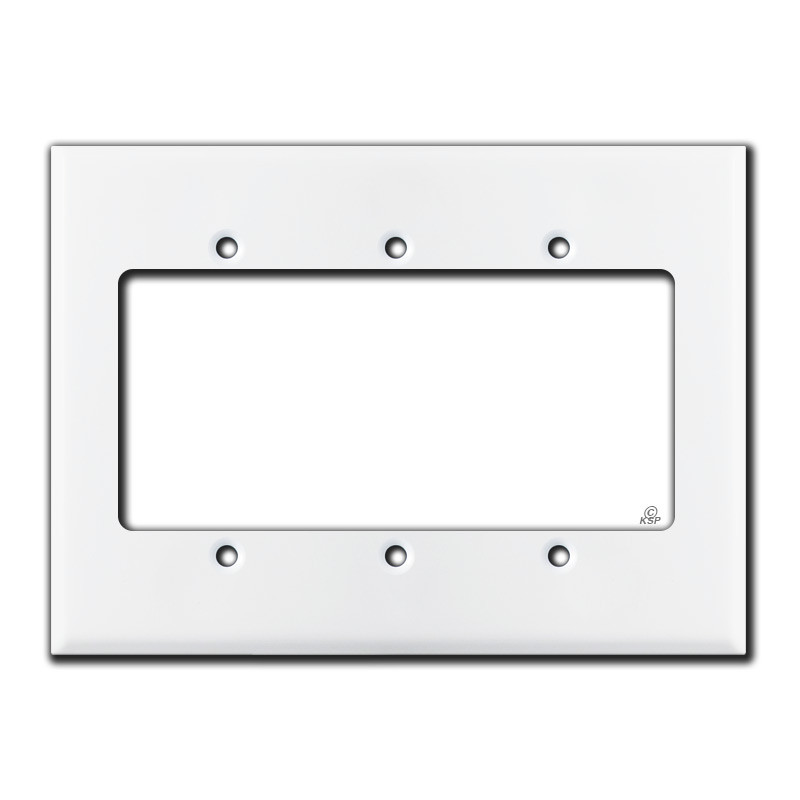 Oversized 3 Gang Extender Ring For Deep Switch Plates