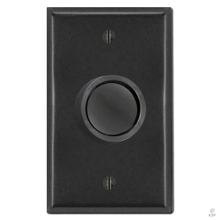 black rotary dimmer knob cover plate kyle switch plates. Black Bedroom Furniture Sets. Home Design Ideas