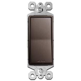 Dark Bronze Switch 3-Way Rocker 15A