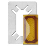 Amber Indicator Jewel for Toggle Opening Light Switch Cover